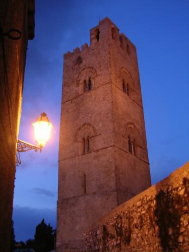 Erice - Torre Campanaria del Duomo di Erice