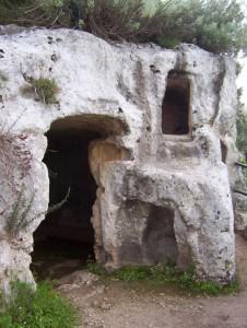 Pantalica: Chiesa rupestre di San Micidiario