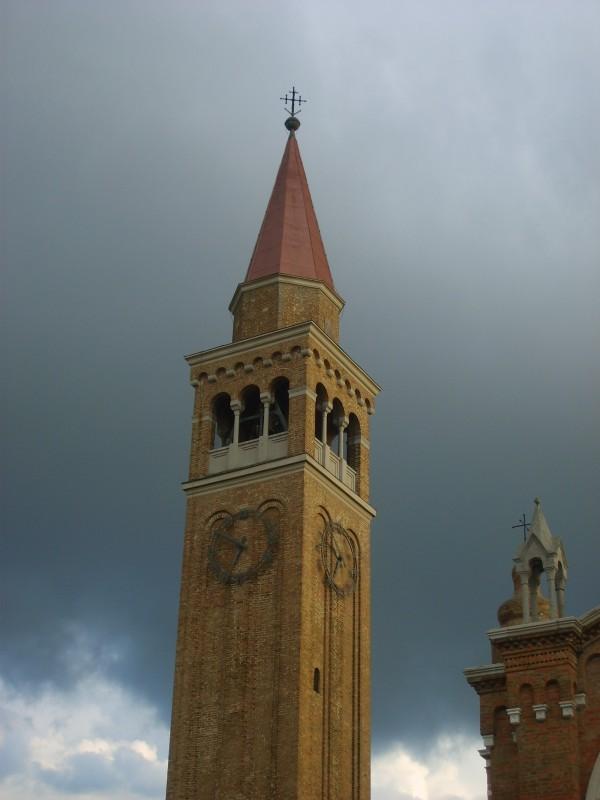 ''Campanile Chiesa parrocchiale della Santissima Trinità - Treporti'' - Cavallino-Treporti