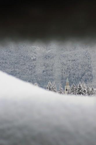 Cortina d'Ampezzo - un po' di neve...