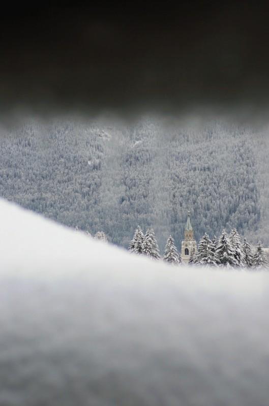 ''un po' di neve…'' - Cortina d'Ampezzo