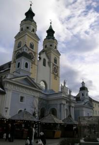 Duomo nel periodo natalizio (tardo pomeriggio)