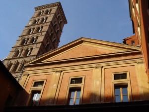 Chiesa di San Silvestro, nella piazza omonima.