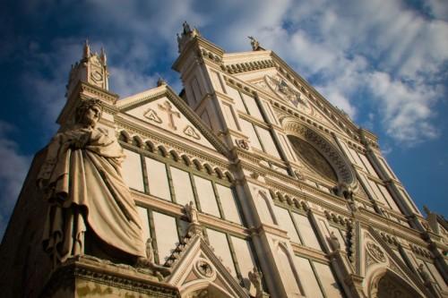 Firenze - Dante a S.croce