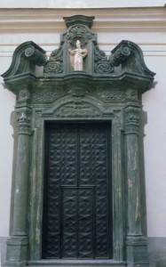 Portale della Chiesa di Sant'Eusebio a Grosotto
