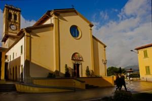 La chiesa di Larciano (s. Rocco)
