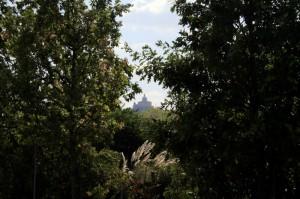 San Luca vista dal parco Green