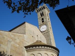 In posizione dominante guarda Firenze dall'alto……