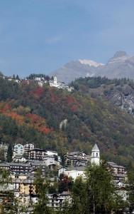 La Chiesa parrocchiale della Madonna degli alpini di Chiesa in Val Malenco e la Chiesa di Primolo