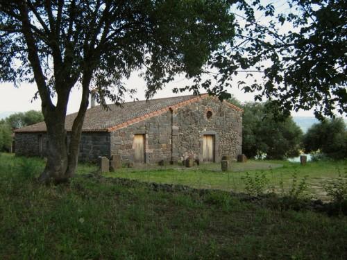 Aidomaggiore - chiesetta campestre di Santa Greca