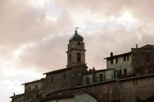 Agosta - Campanile di Santa Maria Assunta