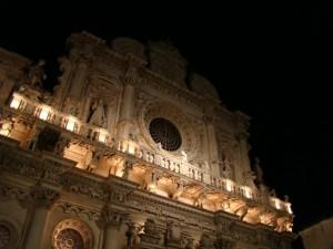 notte su santa croce