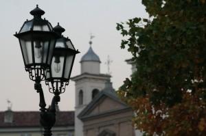 Autunno con Chiesa PINEROLO