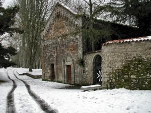 chiesa sulla neve