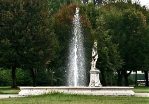 Fontana di villa Morando