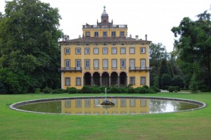 Villa Torrigiani allo specchio