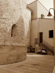 veduta absidale della cattedrale di termoli