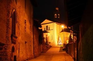 Chiesa dei SS Quirico e Giulitta (Sec. XIII) e Castello Visconti ( Sec.XV ) di Cavagliano