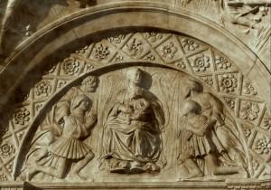 Tempietto di Vicovaro (particolare)