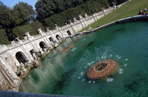 Caserta - parco della reggia: fontana di Eolo
