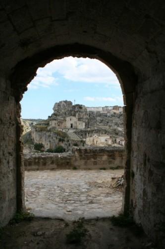 Matera - I sassi in cornice