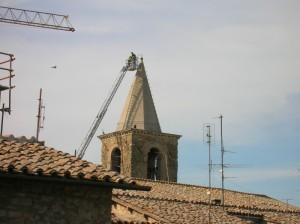 Campanile della chiesa di S. Crispolto