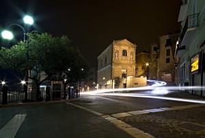 Chiesa dell'addolorata di notte