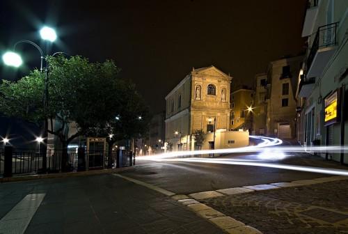 Atessa - Chiesa dell'addolorata di notte