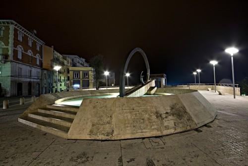 Atessa - Fontana notturna