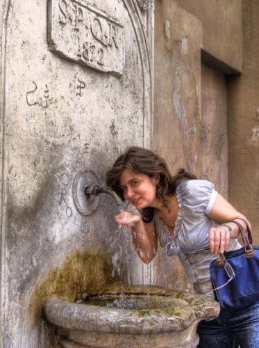 Roma - La vecchia fontana