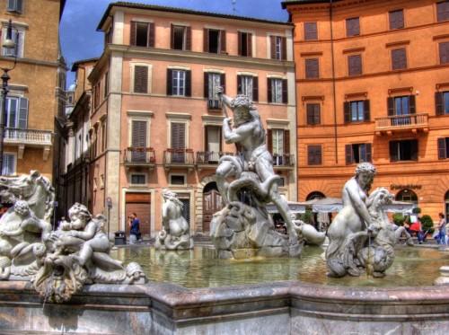 Roma - Fontana del Nettuno