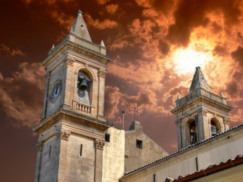 Acate - I campanili gemelli della Chiesa Madre