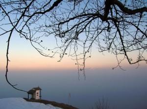 all'alpe Quaggione…….sopra le nebbie