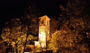 il campanile e il vento