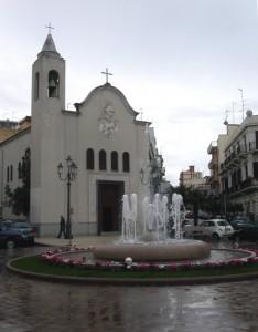 Chiesa del Carmine e nuova fontana