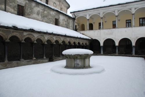 Aosta - Chiostro di S, Orso