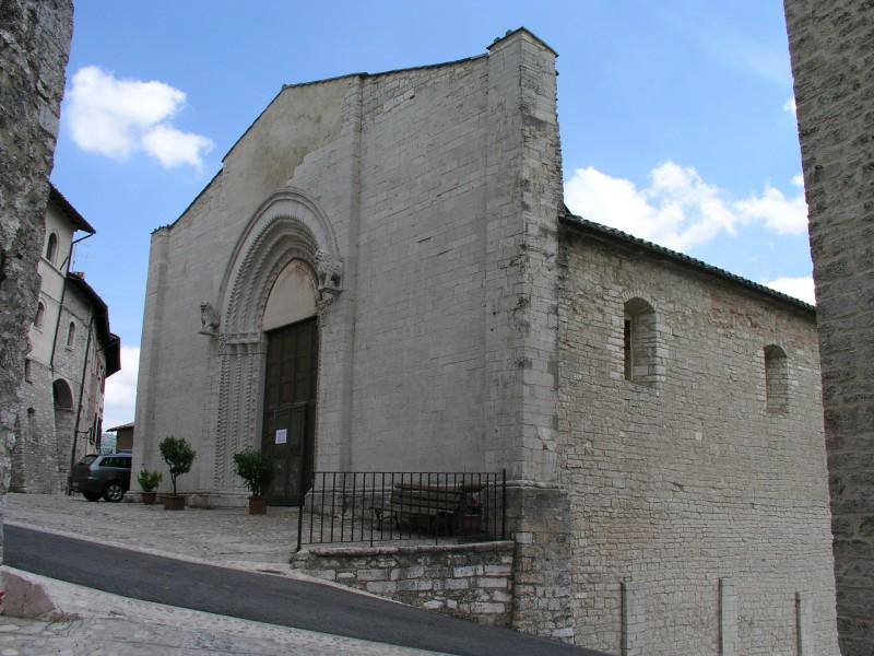 ''Chiesa di S. Francesco'' - Monteleone di Spoleto