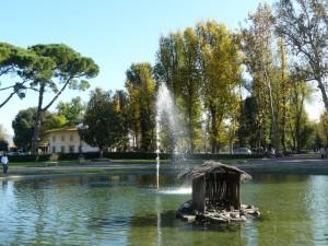 La fontana del piazzale del re