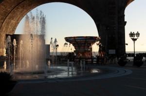 fontana con giostra