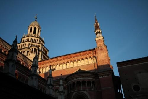 Certosa di Pavia - Certosa dal chiostro
