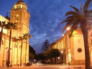 Mazara del Vallo - La Basilica Cattedrale e il Seminario Vescovile