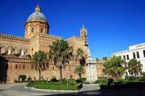 Palermo - Scorcio della Cattedrale