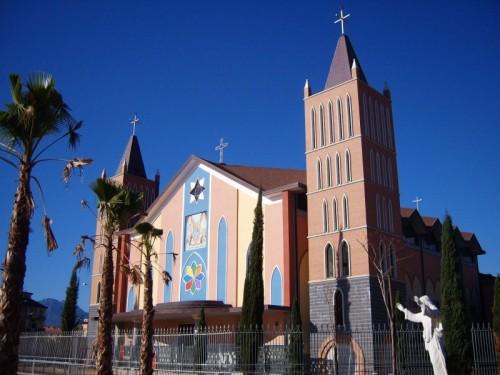 Salerno - Chiesa del S.S Rosario di Pompei Mariconda Salerno