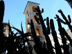 la chiesa che sembra nella natura