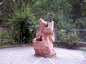fontana nei pressi del Santuario di S.Romedio