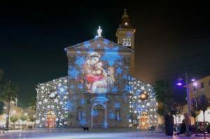 Luci di Natale  a Marina di Carrara