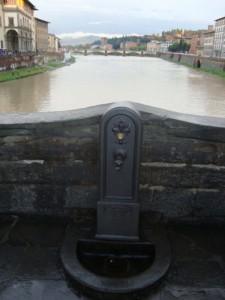 Fontanina  su Ponte Vecchio…..uscita dall'anonimato….