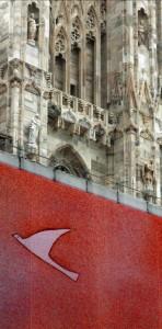 Pubblicità sul Duomo