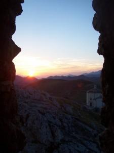 Tramonto sulla Rocca