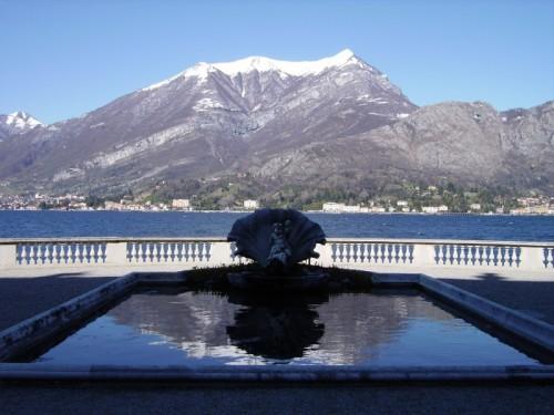 Bellagio - La fontana di Villa Melzi